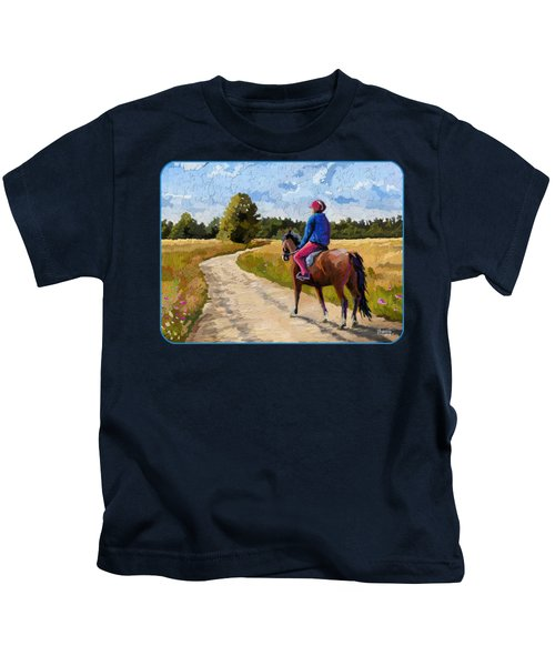 Easy Ride Afternoon Kids T-Shirt