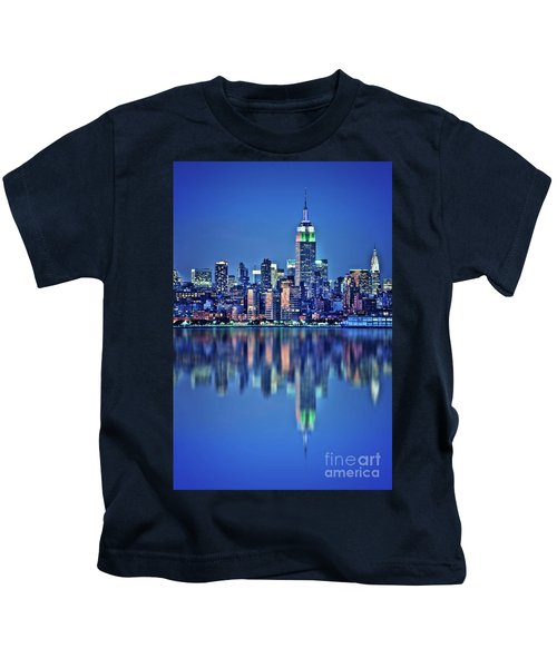 Empire State Building Kids T-Shirt