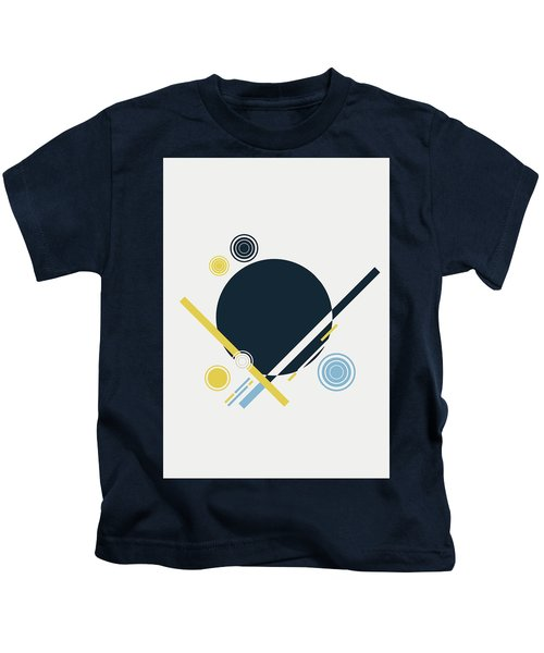 Geometric Painting 3 Kids T-Shirt