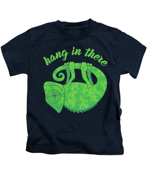 Hang In There Magical Chameleon Kids T-Shirt
