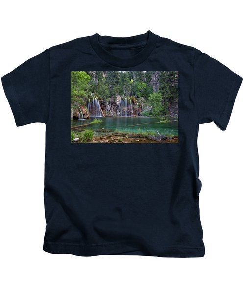 Hanging Lake Colorado Kids T-Shirt