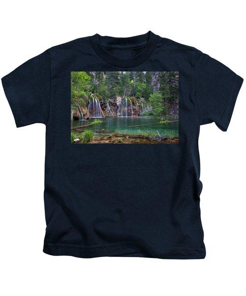 Hanging Lake Colorado Kids T-Shirt