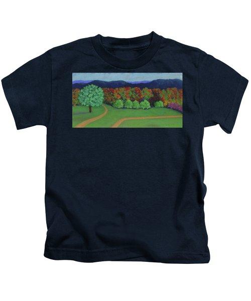 Hutchins Farm In Fall Kids T-Shirt