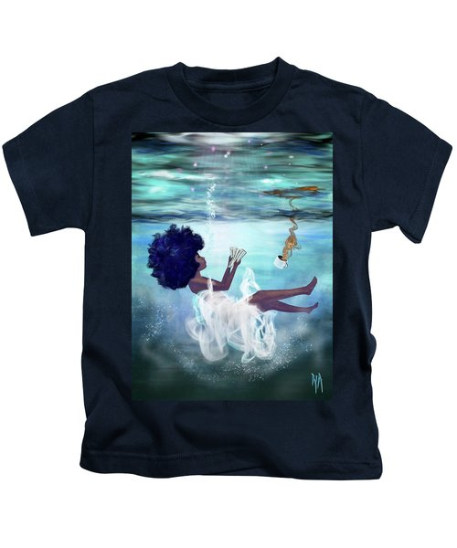 I Aint Drowning Kids T-Shirt