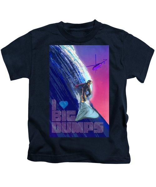 I Love Big Dumps Kids T-Shirt
