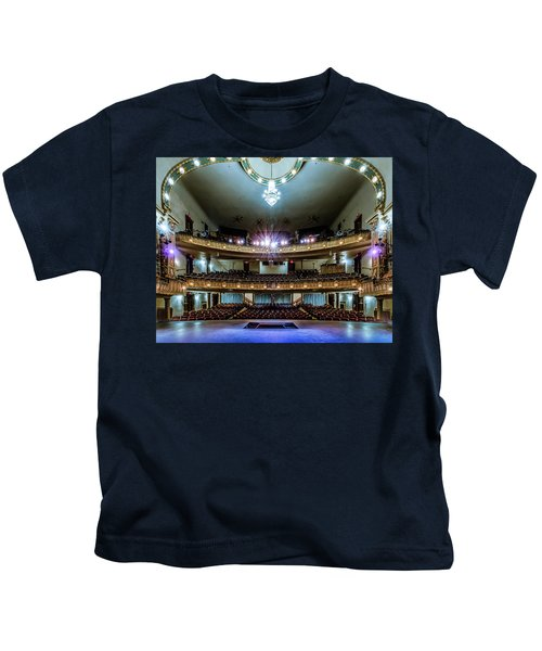 Landers Theatre Stage View Kids T-Shirt