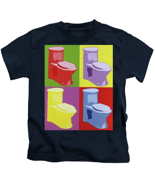 Les Toilettes  Kids T-Shirt