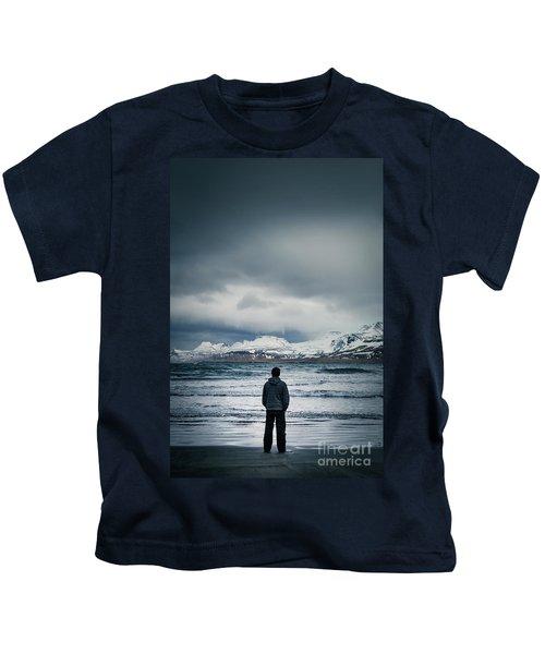 Lonely Seas Kids T-Shirt