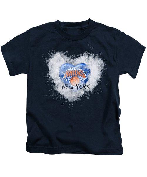 lOVE nEW yORK kICKS Kids T-Shirt