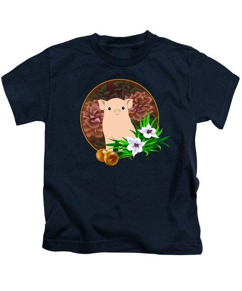 Lucky Pig Kids T-Shirt