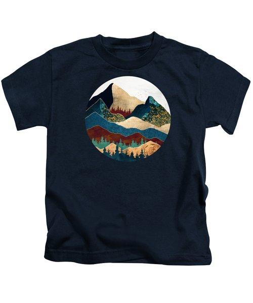 Malachite Mountains Kids T-Shirt