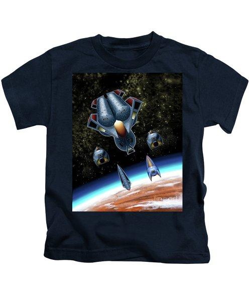 Mangle Approaches Nisip Kids T-Shirt
