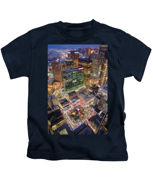 Market Square From Above  Kids T-Shirt