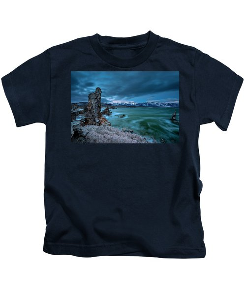 Mystical Mono Lake Kids T-Shirt