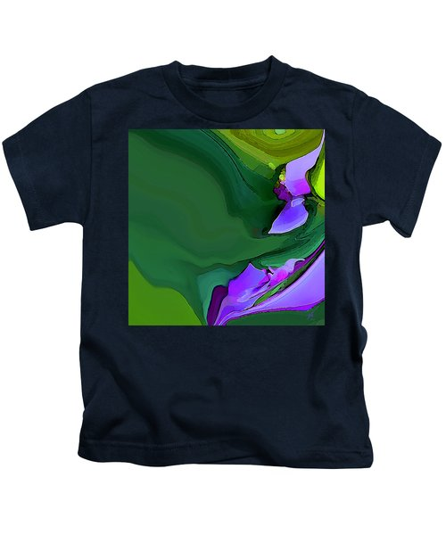 Orchids And Emeralds Kids T-Shirt