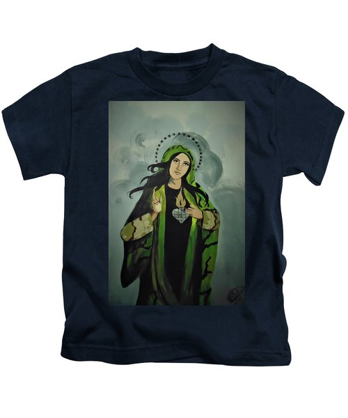 Our Lady Of Veteran Suicide Kids T-Shirt