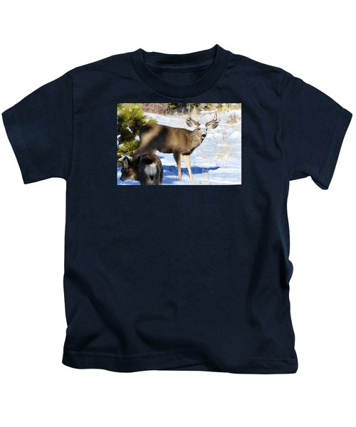 Out Of The Shadows Kids T-Shirt