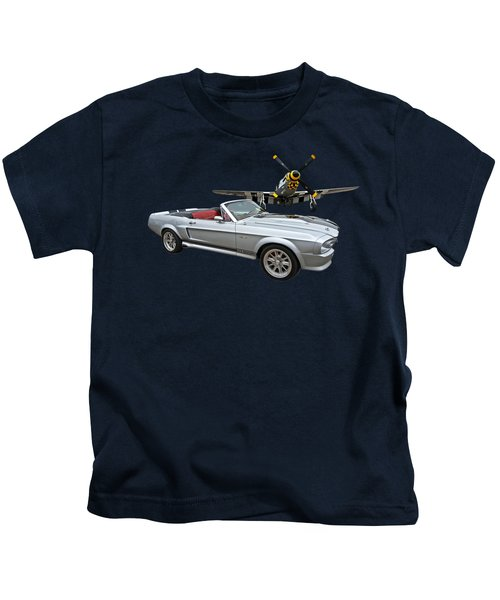 P51 Meets Eleanor Kids T-Shirt