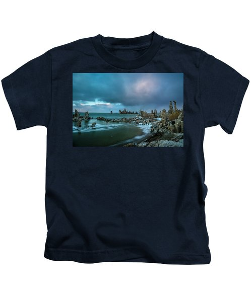 Passing Storm, Mono Lake Kids T-Shirt