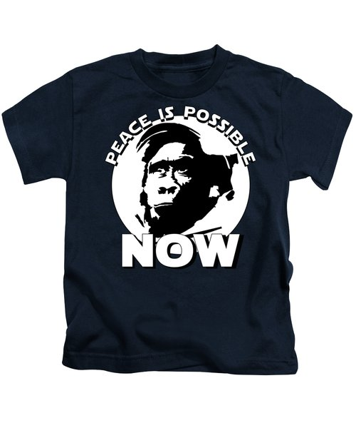 Peace-is-possible-now-1 Kids T-Shirt