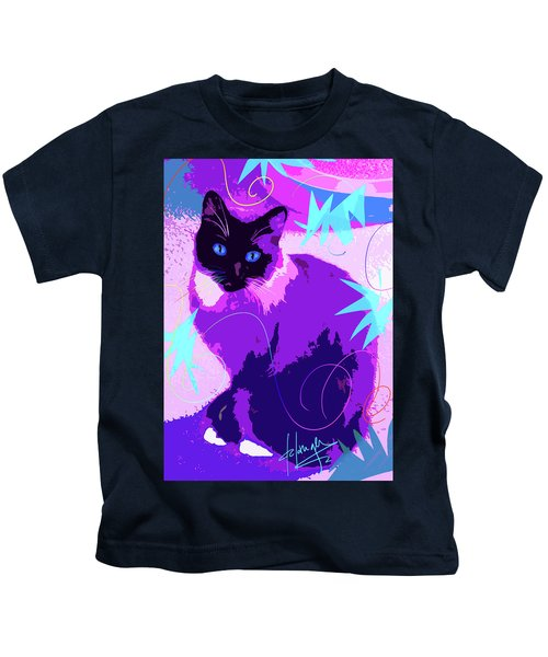 Pop Cat Cocoa Kids T-Shirt