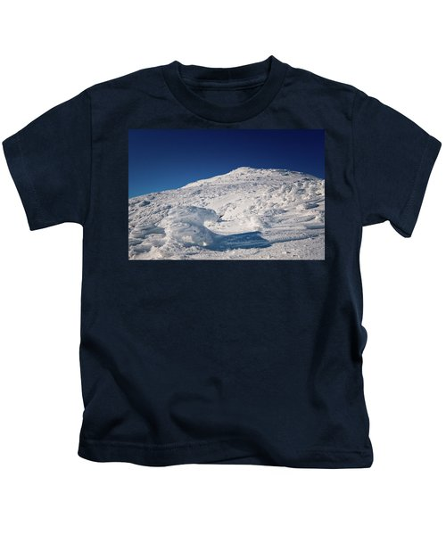 Rime And Snow, And Mountain Trolls. Kids T-Shirt