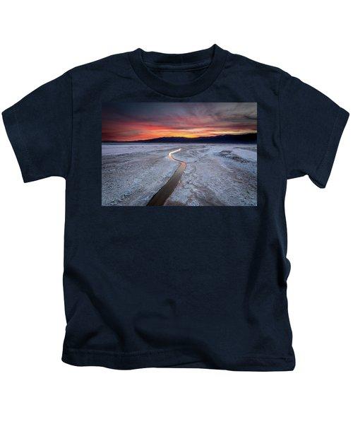 Salt Creek Flats Kids T-Shirt