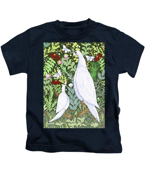 Sapientes Pacis Birds Kids T-Shirt