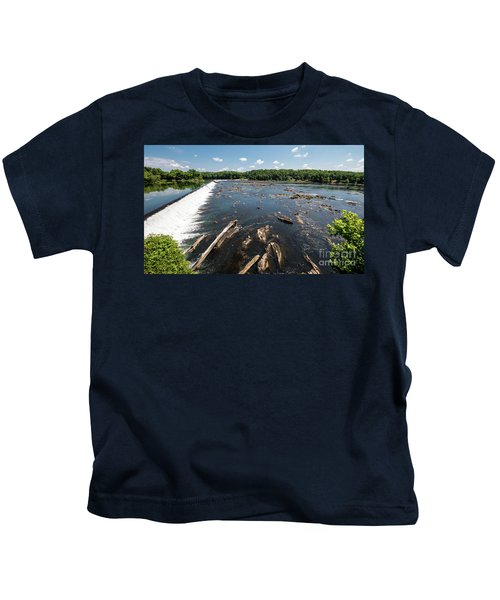 Savannah River Rapids - Augusta Ga Kids T-Shirt