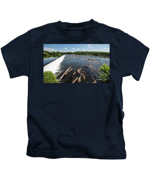 Savannah River Rapids - Augusta Ga Kids T-Shirt