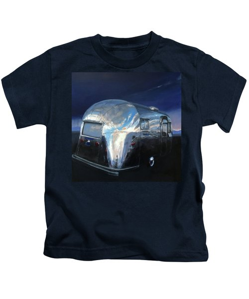 Shelter From The Approaching Storm Kids T-Shirt