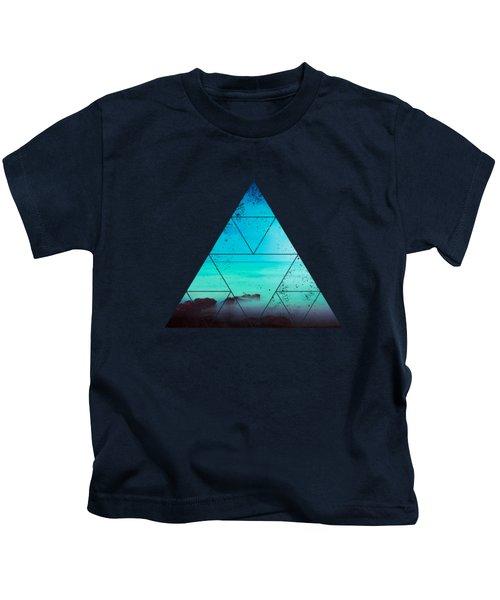 Silent Mediterranean Sea Kids T-Shirt