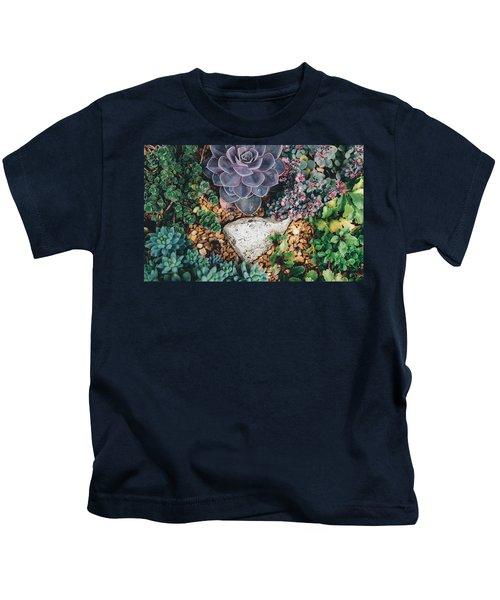 Small Succulent Garden Kids T-Shirt