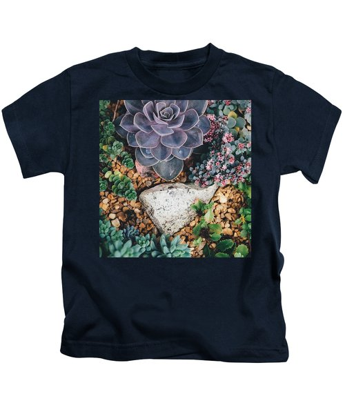 Small Succulent Garden Kids T-Shirt