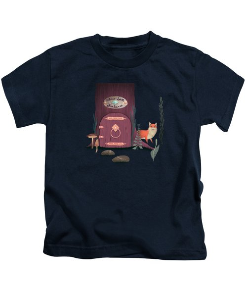 Sorcerer Of Woodland Charms Potions Spells And Fortunes Kids T-Shirt