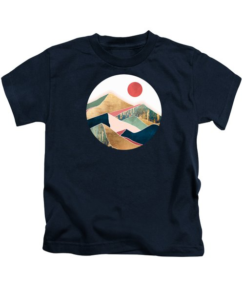Spring Dusk Kids T-Shirt