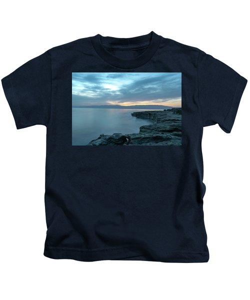 Before Dawn At The Dead Sea Kids T-Shirt