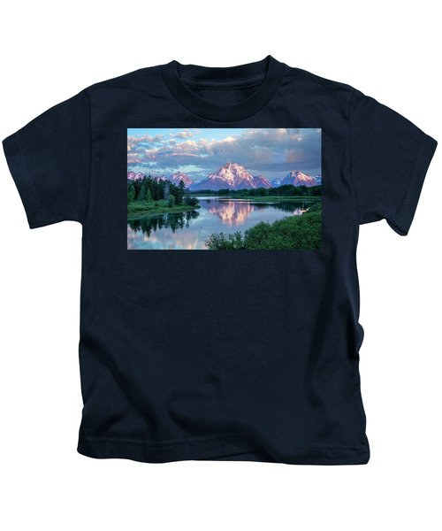 Teton Oxbow Bend  Kids T-Shirt