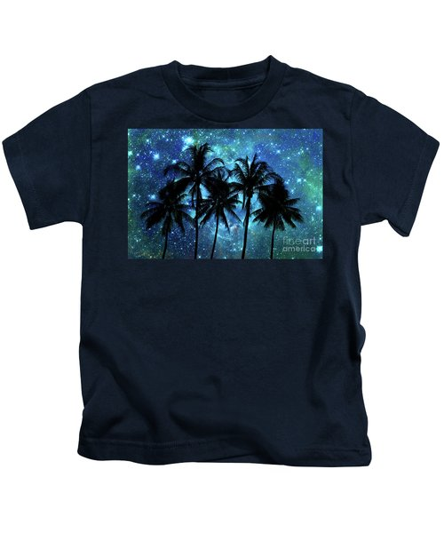Tropical Night Kids T-Shirt