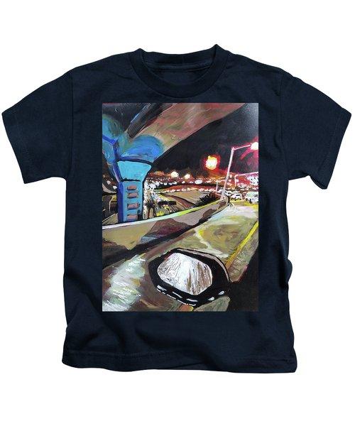 Underpass At Nighht Kids T-Shirt