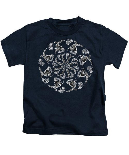Rhythm Inside The Fish Kingdom Kids T-Shirt