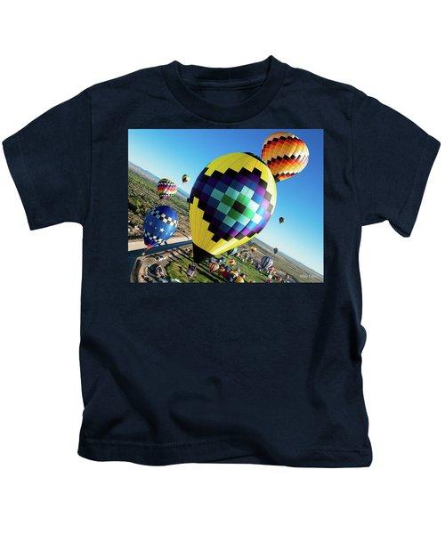 Up, Up, And Away Kids T-Shirt