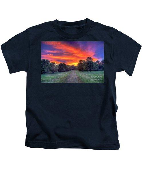 Warm Summer Night Kids T-Shirt