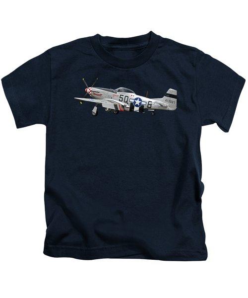 Well Earned Rest P-51 Kids T-Shirt