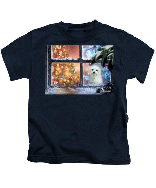 Where Is Santa ? Kids T-Shirt