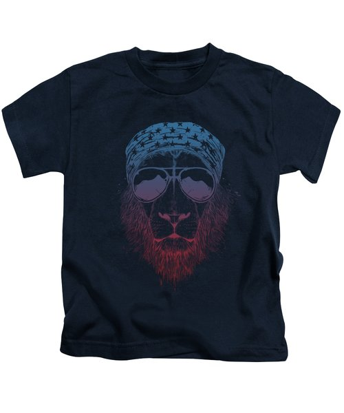 Wild Lion  Kids T-Shirt