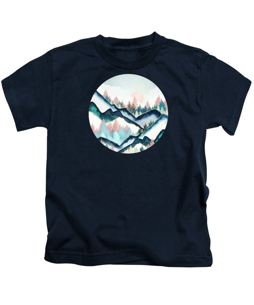 Winter Forest Kids T-Shirt