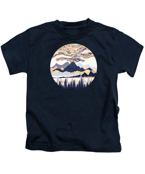 Winter's Sky Kids T-Shirt