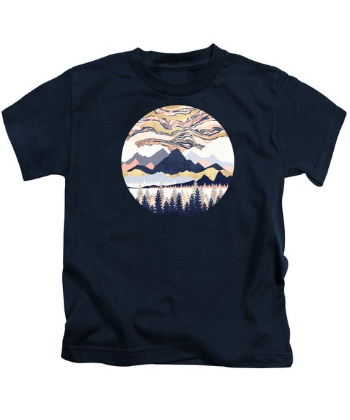 Winter's Sky Kids T-Shirt