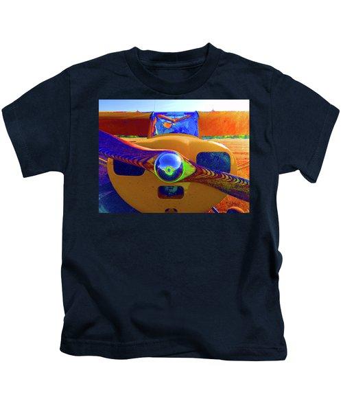 Wooden Prop Kids T-Shirt